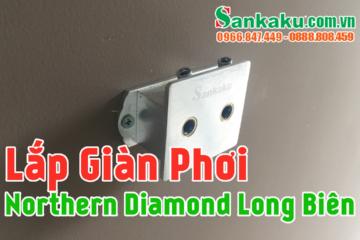 Lắp giàn phơi Sankaku 03 chung cư cao cấp Northern Diamond Long Biên