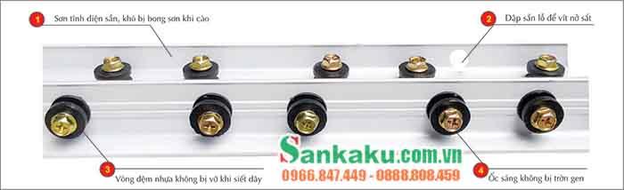 Lưới an toàn ban công Sankaku