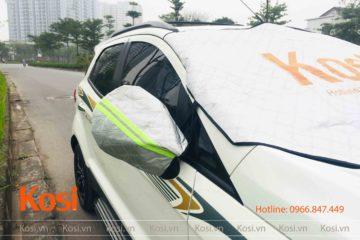 Bạt che nắng Kosi hạn chế tác hại của ánh nắng đối với xế hộp