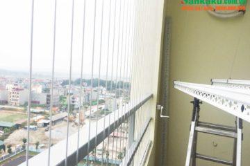 Lắp giàn phơi thông minh Sankaku tại CT3 chung cư Cát Tường Eco – Bắc Ninh