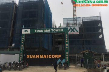 Lắp rèm căn hộ mẫu tại Xuân Mai Tower thành phố Thanh Hóa